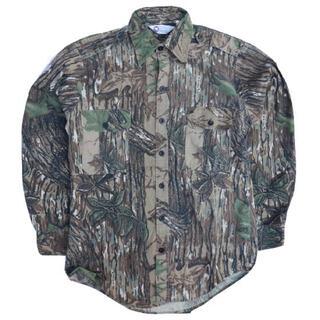 ロスコ(ROTHCO)のUSA製 SportAfied リアルツリーカモシャツ RealTreeCamo(ミリタリージャケット)