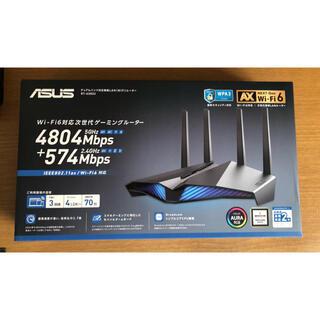 エイスース(ASUS)のASUS ゲーミング Wi-Fi無線ルーター RT-AX82U(PC周辺機器)