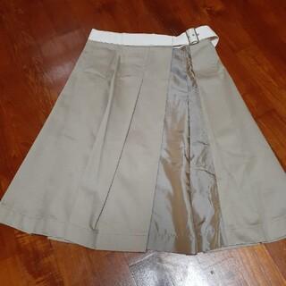 コムデギャルソン(COMME des GARCONS)の今週末のみセール 美品ギャルソン巻きスカート(ひざ丈スカート)