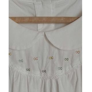 franche lippee - 丸襟 リボン刺繍 ブラウス フランシュリッペ fl5