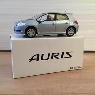 トヨタ(トヨタ)の【トヨタ ミニカー 非売品】AURIS ライトブルーマイカメタリック(8S1)(模型/プラモデル)