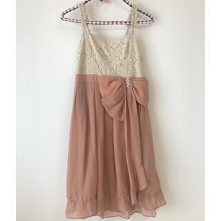 アクシーズファム(axes femme)のaxes femme*くすみピンクドレス(ミディアムドレス)