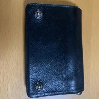 クロムハーツ(Chrome Hearts)のchromehearts 2zip wallet(折り財布)