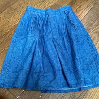 フリークスストア(FREAK'S STORE)のスカート フリークスストア freak's store 青 ブルー デニム(ひざ丈スカート)