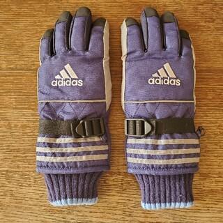 アディダス(adidas)のアディダス 雪用手袋 子供用(手袋)