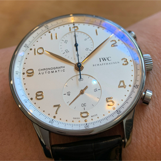 インターナショナルウォッチカンパニー(IWC)の【最終価格】IWC  ポルトギーゼ【白文字盤+金針】(腕時計(アナログ))