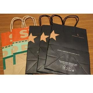 スターバックスコーヒー(Starbucks Coffee)のスターバックス スタバ ショッパー 紙袋(ショップ袋)
