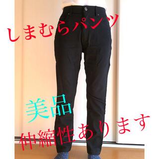 シマムラ(しまむら)のしまむらブランド ブラックパンツM(スキニーパンツ)