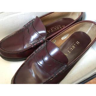 ハルタ(HARUTA)のローファー22EE HARUTA 箱付き(ローファー/革靴)