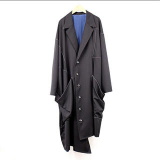 Yohji Yamamoto - sulvam Gabardine over coat オーバーコート 20AW