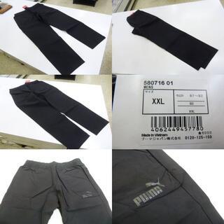 プーマ(PUMA)のXXL 黒)プーマ★ウーブンパンツ 580716 ロングパンツ 伸縮 腰ゴム(その他)