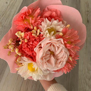 Francfranc - 花束 造花 ピンク