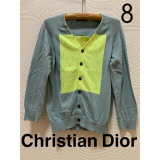 クリスチャンディオール(Christian Dior)の⭐️美品‼︎⭐️Christian Diorキッズ⭐️コットンカーディガン8(カーディガン)