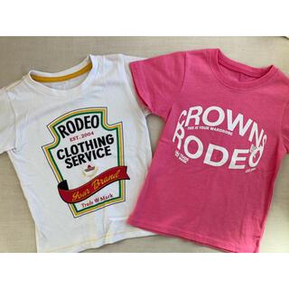 ロデオクラウンズ(RODEO CROWNS)のロデオクラウンズTシャツ 2枚セット(Tシャツ/カットソー)