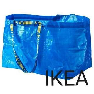 イケア(IKEA)のIKEAショッピングバッグ ブルーバッグ  エコバッグLサイズ1枚(ショップ袋)
