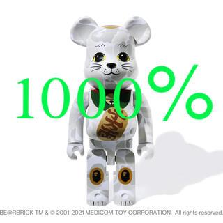 メディコムトイ(MEDICOM TOY)のBE@RBRICK BAPE 招き猫 1000%(その他)