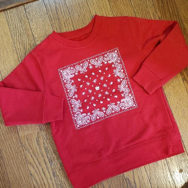 RODEO CROWNS WIDE BOWL(ロデオクラウンズワイドボウル)のロデオクラウンズ トレーナー キッズ キッズ/ベビー/マタニティのキッズ服男の子用(90cm~)(Tシャツ/カットソー)の商品写真