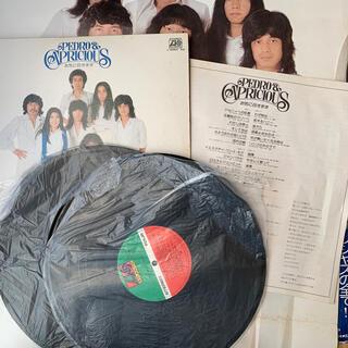 ペドロ&カプリシャス レコード2枚組レトロ(レコード針)