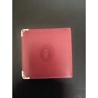 カルティエ(Cartier)のカルティエ 二つ折り財布 ウォーレット レザー(折り財布)