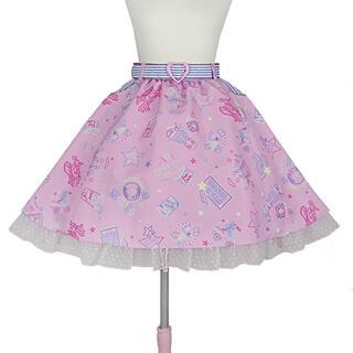 アンジェリックプリティー(Angelic Pretty)のNeon Star Dinerスカート(ひざ丈スカート)