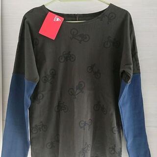 ソウソウ(SOU・SOU)のSOU・SOU SOUSOU ルコック 長袖Tシャツ 未使用 M SOU SOU(Tシャツ(長袖/七分))