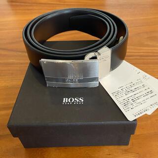 ヒューゴボス(HUGO BOSS)のHUGO BOSS ベルト 新品箱あり(ベルト)