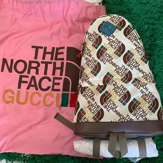 グッチ(Gucci)の【みどはる様専用】GUCCI × THE NORTH FACE  バッグ グッチ(バッグパック/リュック)