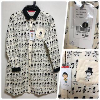 グラニフ(Design Tshirts Store graniph)の新品 グラニフ  ちびまる子ちゃんシャツワンピース(ひざ丈ワンピース)