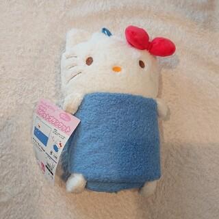 キティ ハローキティ ブランケット 毛布 パペット ぬいぐるみ(キャラクターグッズ)