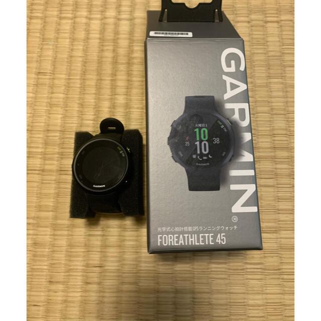 GARMIN(ガーミン)のGARMIN FOREATHLETE45 メンズの時計(腕時計(デジタル))の商品写真