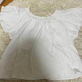 ジーユー(GU)のレディース トップス(カットソー(半袖/袖なし))