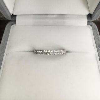 ポンテヴェキオ(PonteVecchio)のポンテヴェキオ ダイヤモンド パヴェ リング K18WG 0.20ct 1.8g(リング(指輪))