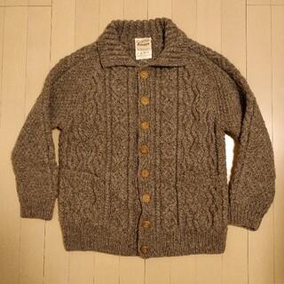 インバーアラン(INVERALLAN)のTraditional Handknitted Aranのニットカーディガン(ニット/セーター)