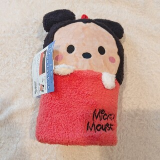 ミッキー ミッキーマウス ブランケット 毛布 パペット ぬいぐるみ(キャラクターグッズ)