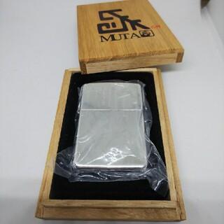 ジッポー(ZIPPO)の希少20個限定品スターリングシルバーZIPPOグレートムタ武藤敬司2004(タバコグッズ)