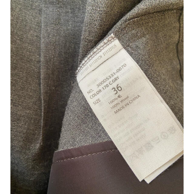 ENFOLD(エンフォルド)のENFOLDエンフォルド 大人気完売アシンメトリーワイドパンツお値下げ☆ レディースのパンツ(サルエルパンツ)の商品写真