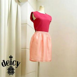 デイシー(deicy)の週末セール 80%off Deicy デイシー ワンピース(ミニワンピース)