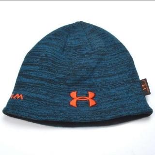 アンダーアーマー(UNDER ARMOUR)のアンダーアーマー UnderArmour ニット帽ニットキャップ 冬用両面 極暖(ニット帽/ビーニー)