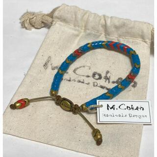 エムコーエン(M.Cohen)のエムコーエン/RHC/ブレスレット/ナバホ/ブラス/ビーズ/M.Cohen/美品(ブレスレット)
