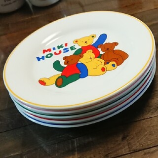 ミキハウス(mikihouse)のMIKI HOUSE お皿5枚セット(食器)