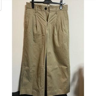 サンシー(SUNSEA)のuru 18aw 2tuck wide pants (typeA)(スラックス)