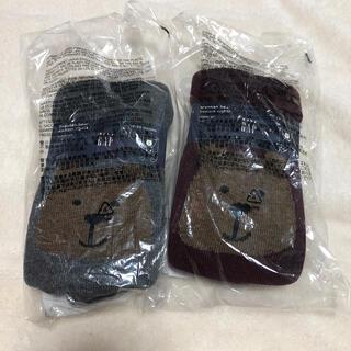 ギャップ(GAP)のGAP ベビー くまさんタイツ 新品 90 12-24(靴下/タイツ)