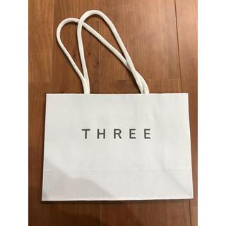 スリー(THREE)のTHREE紙袋 ブランド紙袋 ショップ袋(ショップ袋)