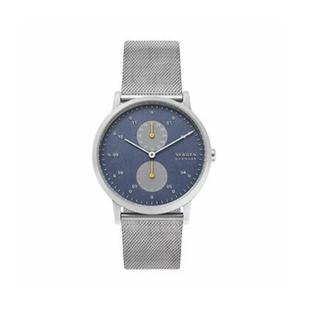 スカーゲン(SKAGEN)の保証付!SKAGEN スカーゲン クオーツ SKW6525 ブルー文字盤(腕時計(アナログ))