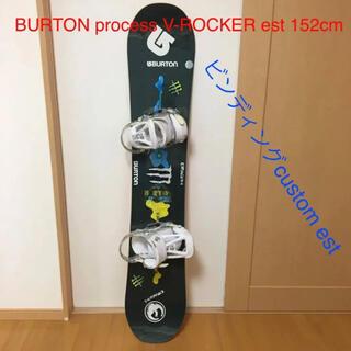 バートン(BURTON)のBURTON スノーボードセット 板 ビンディング(ボード)