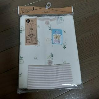 yuyu様専用☆花柄長袖腹巻きつきパジャマ 80cm  (パジャマ)