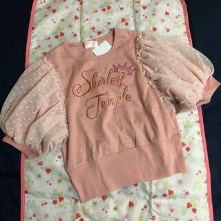 シャーリーテンプル(Shirley Temple)の☆ être joli様専用です☆未使用ShirleyTempleトップス130(Tシャツ/カットソー)