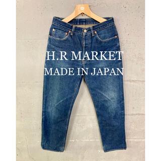 ハリウッドランチマーケット(HOLLYWOOD RANCH MARKET)のH.R MARKETセルビッチデニム!日本製!赤耳!(デニム/ジーンズ)