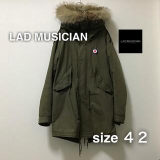 LAD MUSICIAN - LAD MUSICIAN ラッドミュージシャン モッズコート 42 モスグリーン
