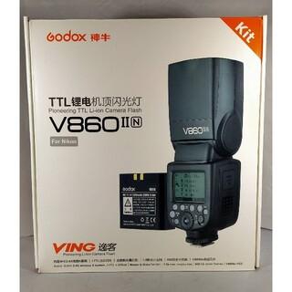 ニコン(Nikon)のgodox v860Ⅱ nikon用 v860ⅱ ストロボ(ストロボ/照明)